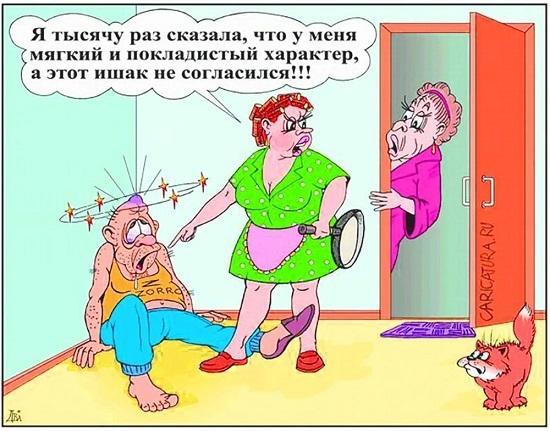 Анекдоты про жену и раз