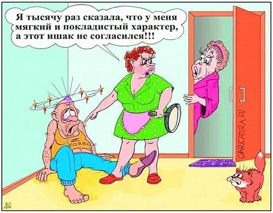 анекдоты про жену и женщин