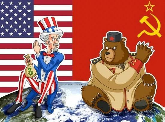 Анекдоты про американцев и русских