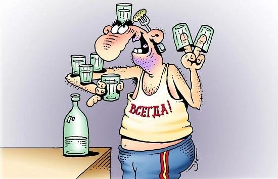 Анекдоты про мужика и бутылку