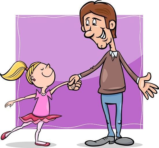 анекдоты про папу и дочку