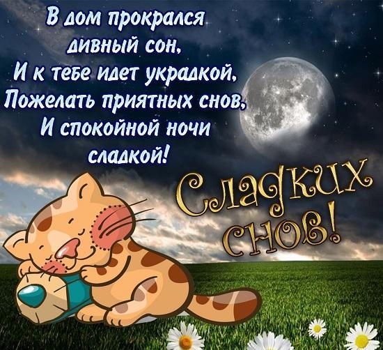 Read more about the article Смс Спокойной ночи