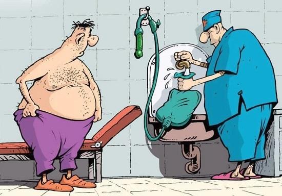 анекдоты про мужиков и доктора