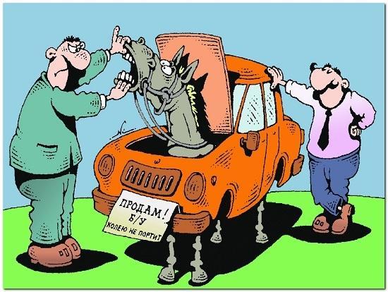 анекдоты про мужиков и машины
