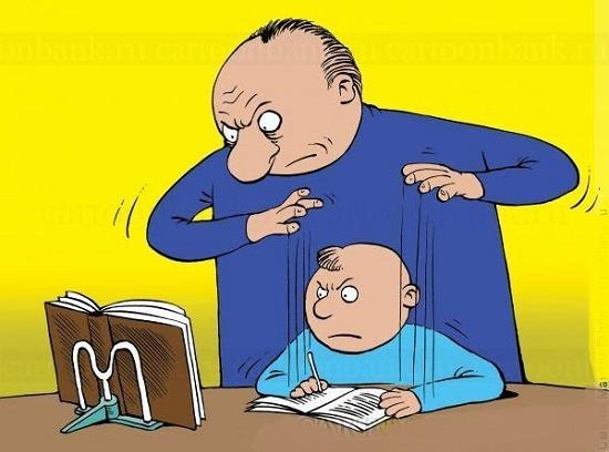 анекдоты про домашнюю работу