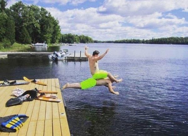 прикольная картинка про лето