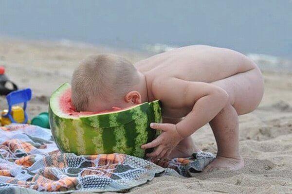 смешная картинка про лето