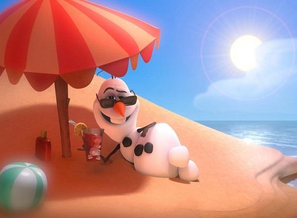 веселое лето на картинке