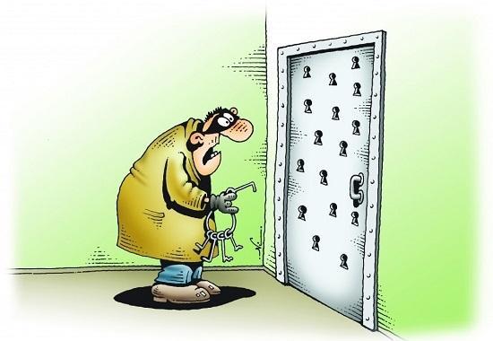 Анекдоты про дверь в квартиру