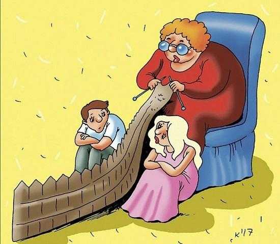 анекдоты про маму и мать