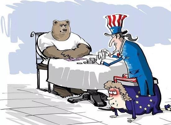 анекдоты про россию и америку