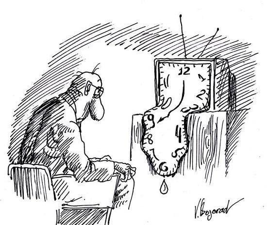 Анекдоты про время и страну