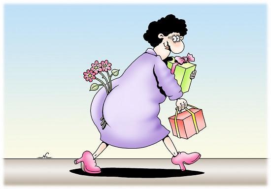 анекдоты про женщин и любовь