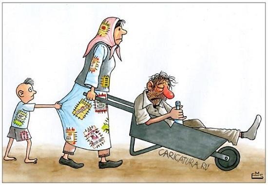 анекдоты про жену и сына