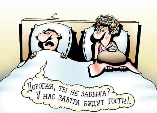 анекдоты про дом и гостей
