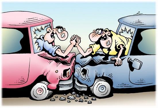 анекдоты про дороги и водителей