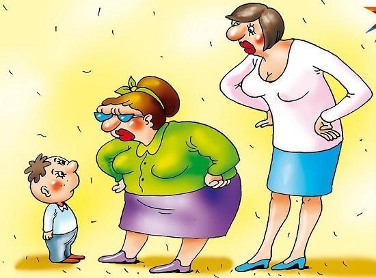 Анекдоты про маму и женщин