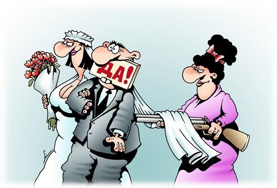 Анекдоты про свадьбу и жениха