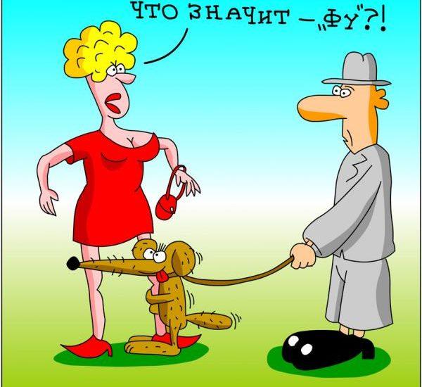 анекдоты про человека и слово