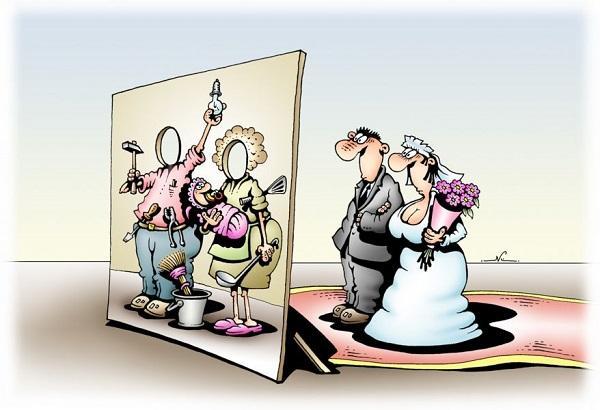 анекдоты про день свадьбы