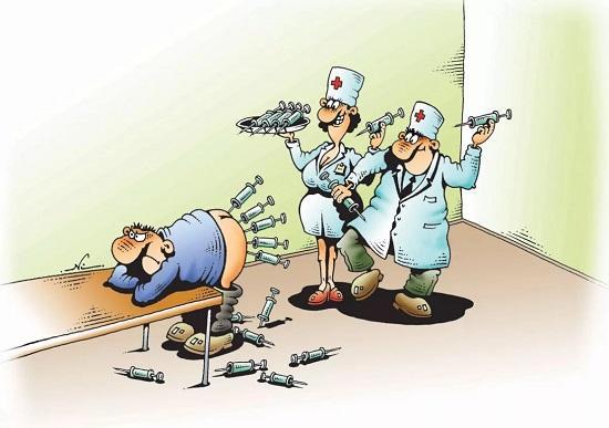 анекдоты про доктора и больницу