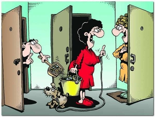 анекдоты про соседа и квартиру