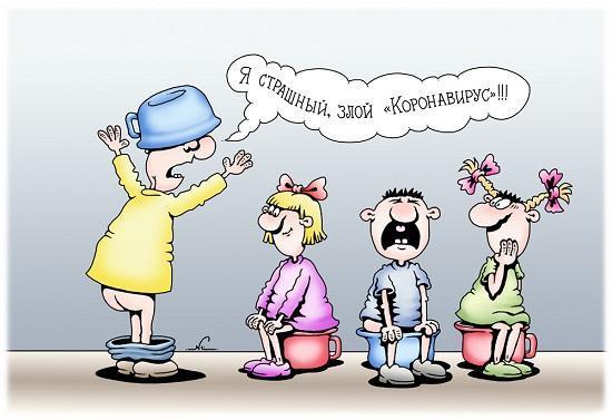 свежие смешные анекдоты про коронавирус