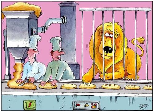Анекдоты – картинки про хлеб