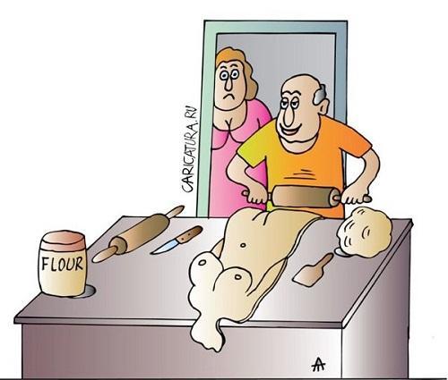 анекдот картинка про хлеб