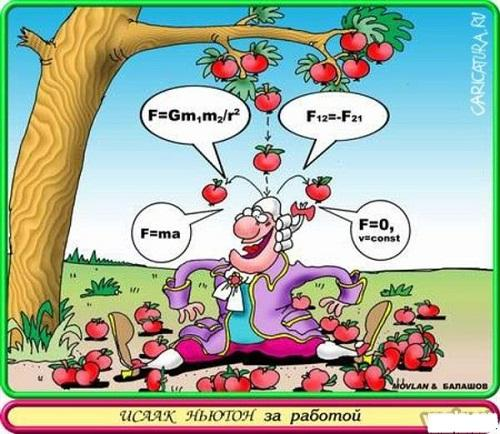 анекдот картинка про яблоки