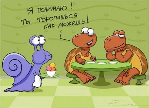 анекдот картинка про кафе и рестораны