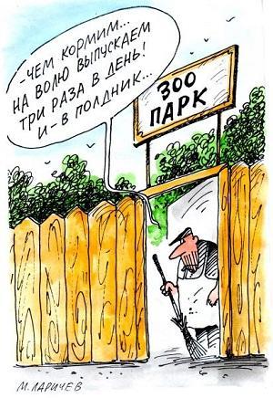 анекдот картинка про зоопарк