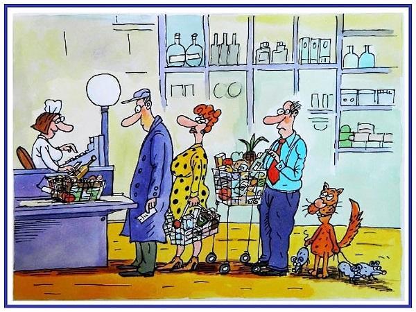 анекдоты про магазины и покупателей