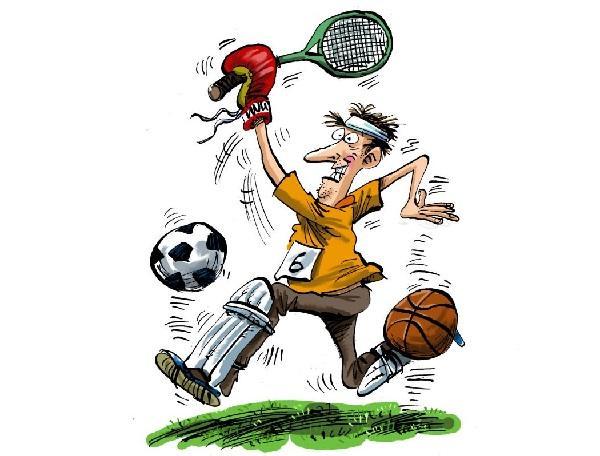 Анекдоты про виды спорта