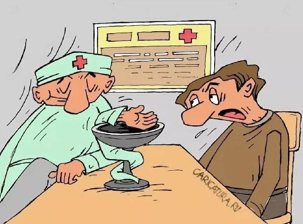 анекдоты про врача и руки
