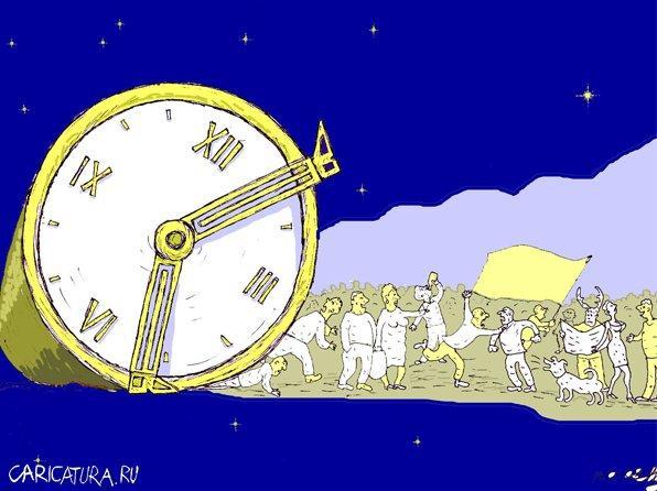 Анекдоты про время и студентов