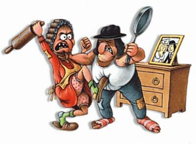 смешные анекдоты картинки про посуду