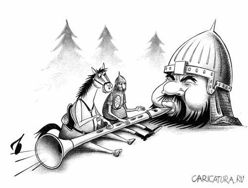 анекдот картинка про голову и лоб