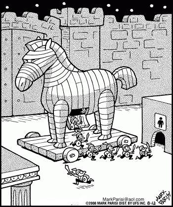 анекдот картинка про коней