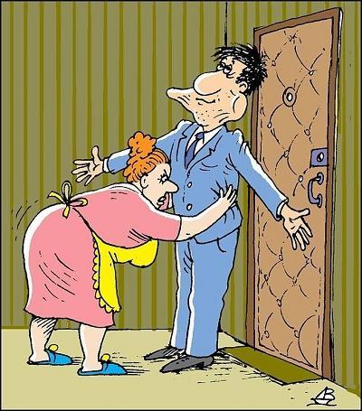анекдот картинка про милых