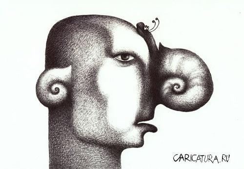 анекдот картинка про нос и уши