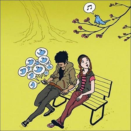 анекдот картинка про соц сети