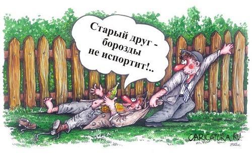 анекдот картинка про товарищей и участников