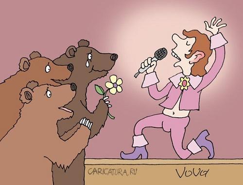 анекдоты картинки про певцов и песни