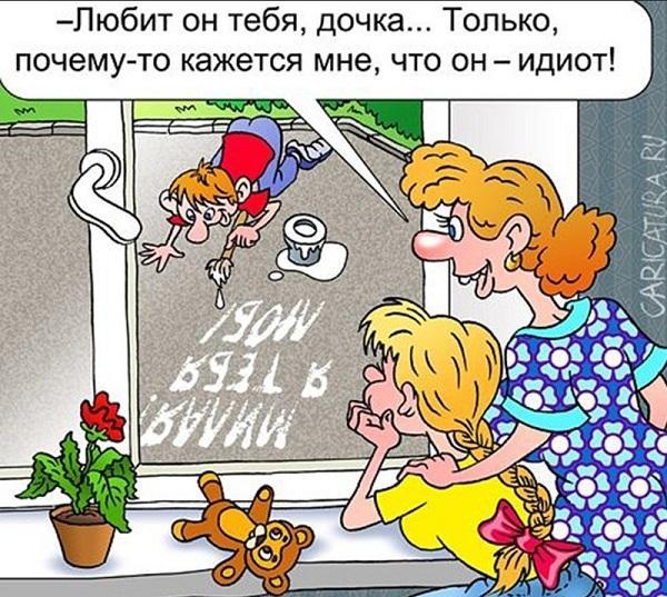 анекдоты про маму и слово