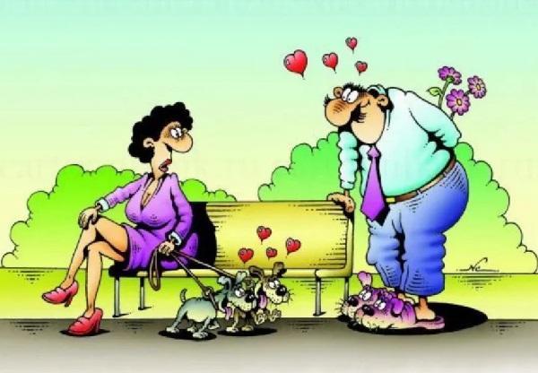 анекдоты про мужчин и любовь