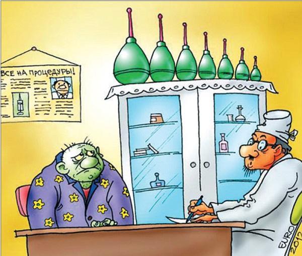 анекдоты про врача и кабинет