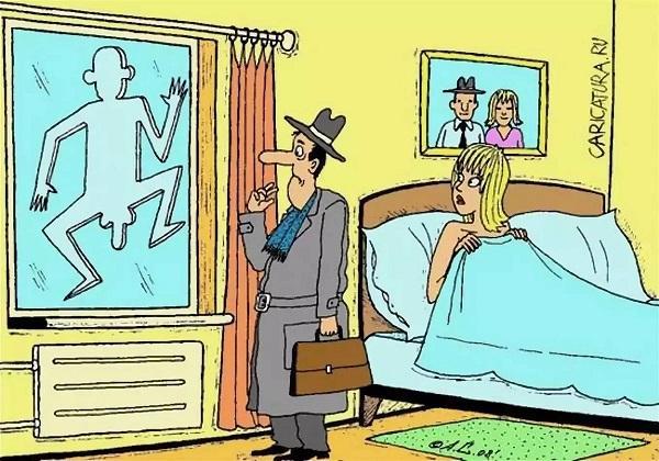 анекдоты про жену и член