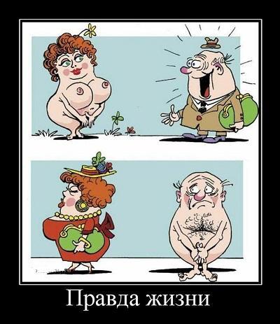 анекдот картинка про ложь и правду
