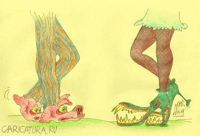 анекдот картинка про обувь и ботинки